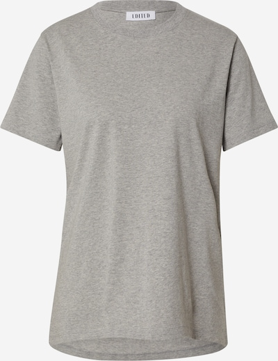 EDITED T-Shirt 'Enid' in grau, Produktansicht