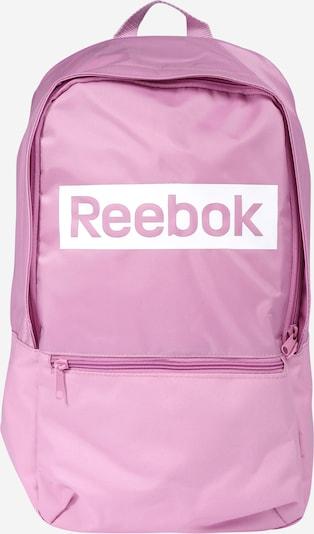 REEBOK Rucksack in rosa / weiß, Produktansicht