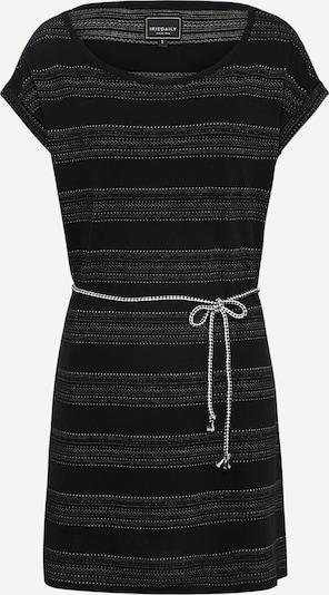 Iriedaily Robe 'Neila 182' en gris foncé / noir, Vue avec produit