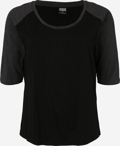 Urban Classics Curvy Shirt in anthrazit / schwarz, Produktansicht