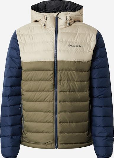 COLUMBIA Outdoor jakna 'Powder Lite' u bež / mornarsko plava / maslinasta, Pregled proizvoda