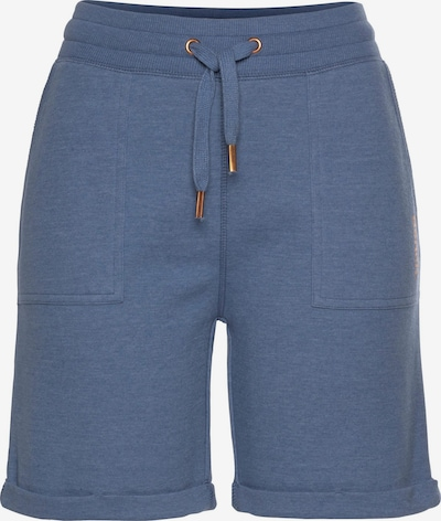 BENCH Shorts in blue denim: Frontalansicht