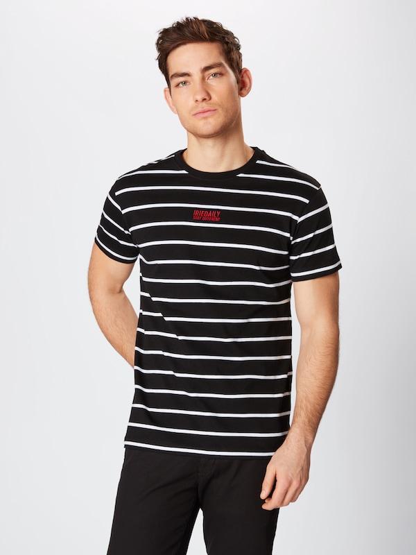 RougeNoir Iriedaily T Blanc shirt En 8knO0wP