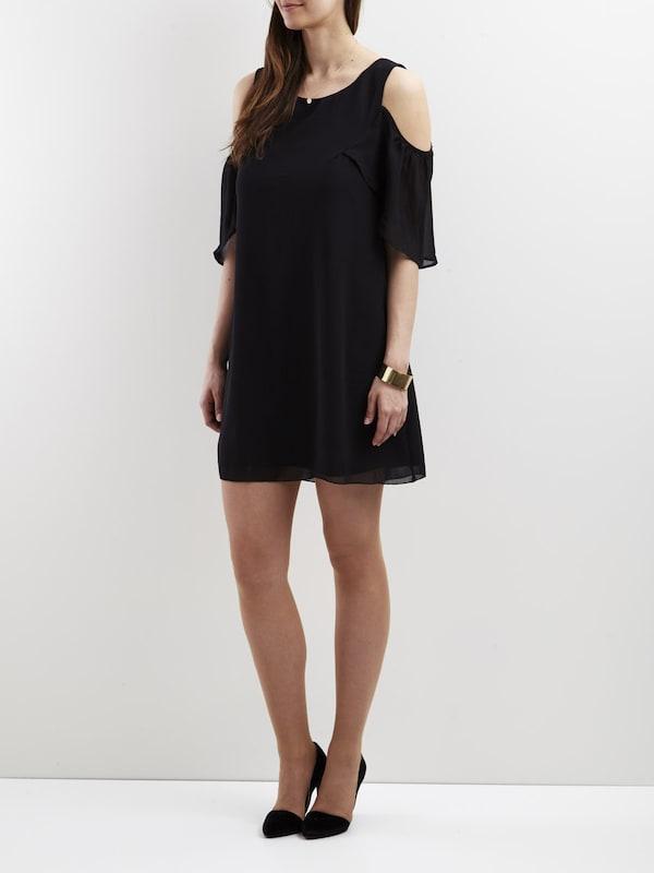 VILA Kleid Cold-Shoulder-