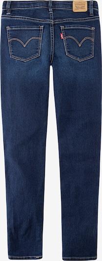 LEVI'S Jeans '710 Super Skinny' in blue denim: Rückansicht