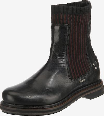 SHABBIES AMSTERDAM Chelsea Boots in rot / schwarz, Produktansicht