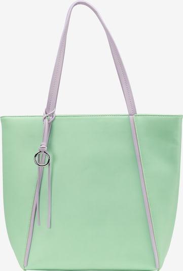 MYMO Tote-Bag in grün: Frontalansicht