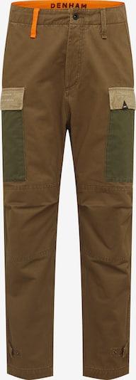 DENHAM Pantalon cargo 'NATO PANT AM' en kaki, Vue avec produit