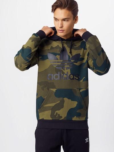 ADIDAS ORIGINALS Sweatshirt 'Camo Oth' in khaki oliv