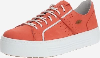 CAMEL ACTIVE Sneaker 'Innocence 70' in koralle / weiß, Produktansicht