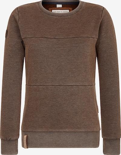 naketano Sweatshirt 'Daisy' in braunmeliert, Produktansicht