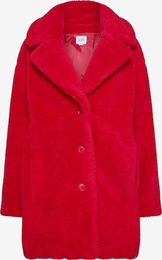 GAP Přechodná bunda 'V-SHERPA OVER COAT' - červená: Pohled zepředu