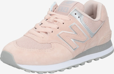 new balance Sneaker 'WL574 B' in hellgrau / rosé / silber, Produktansicht