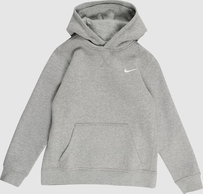 86375b1c754 NIKE Sportief sweatvest 'Nike YA76 Brushed Fleece Pullover' in Grijs  gemêleerd | ABOUT YOU