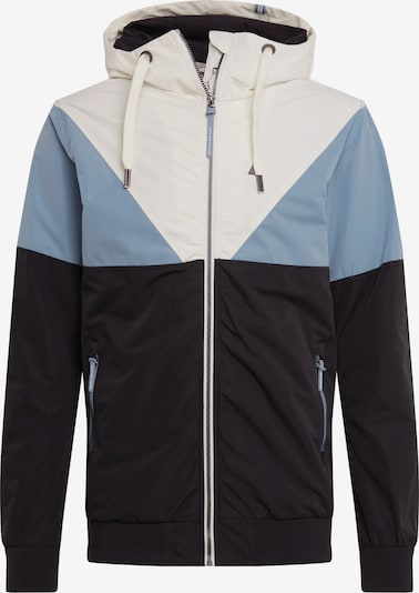 Alife and Kickin Prehodna jakna 'Jack' | svetlo modra / temno modra / bela barva, Prikaz izdelka