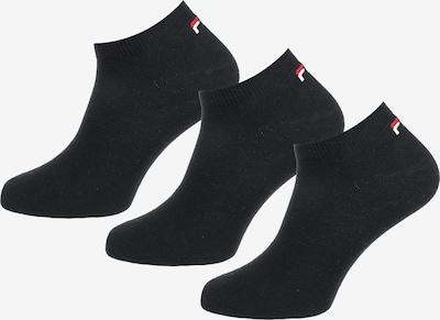 FILA Sneaker Socken (3 Paar) in schwarz, Produktansicht