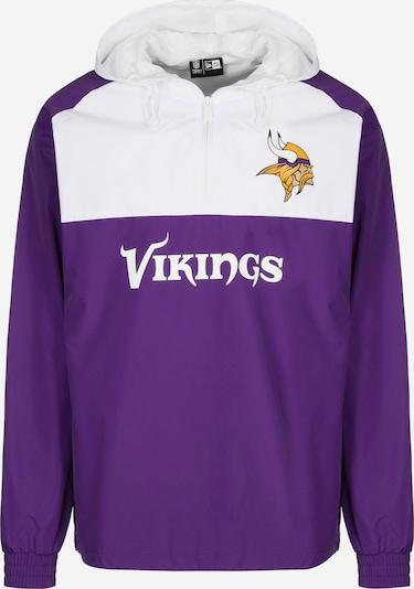 NEW ERA Windbreaker ' NFL Minnesota Vikings ' in weiß, Produktansicht