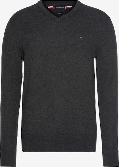 TOMMY HILFIGER Pullover in graumeliert, Produktansicht