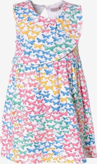 BÒBOLI Kleid in blau / gelb / mint / pink / weiß, Produktansicht
