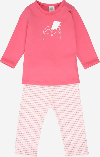 SANETTA Pyjama en rose / rose ancienne / blanc, Vue avec produit