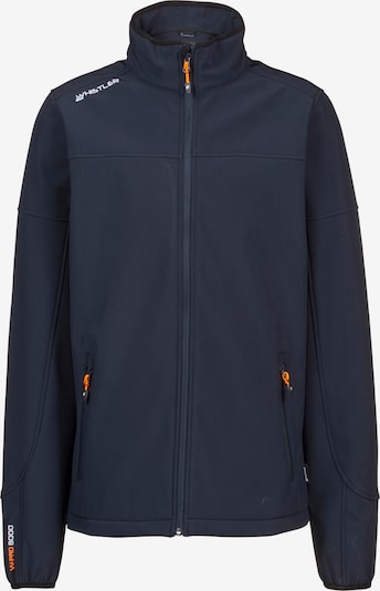 Whistler Jacke 'Dublin' in dunkelblau / orange / weiß, Produktansicht