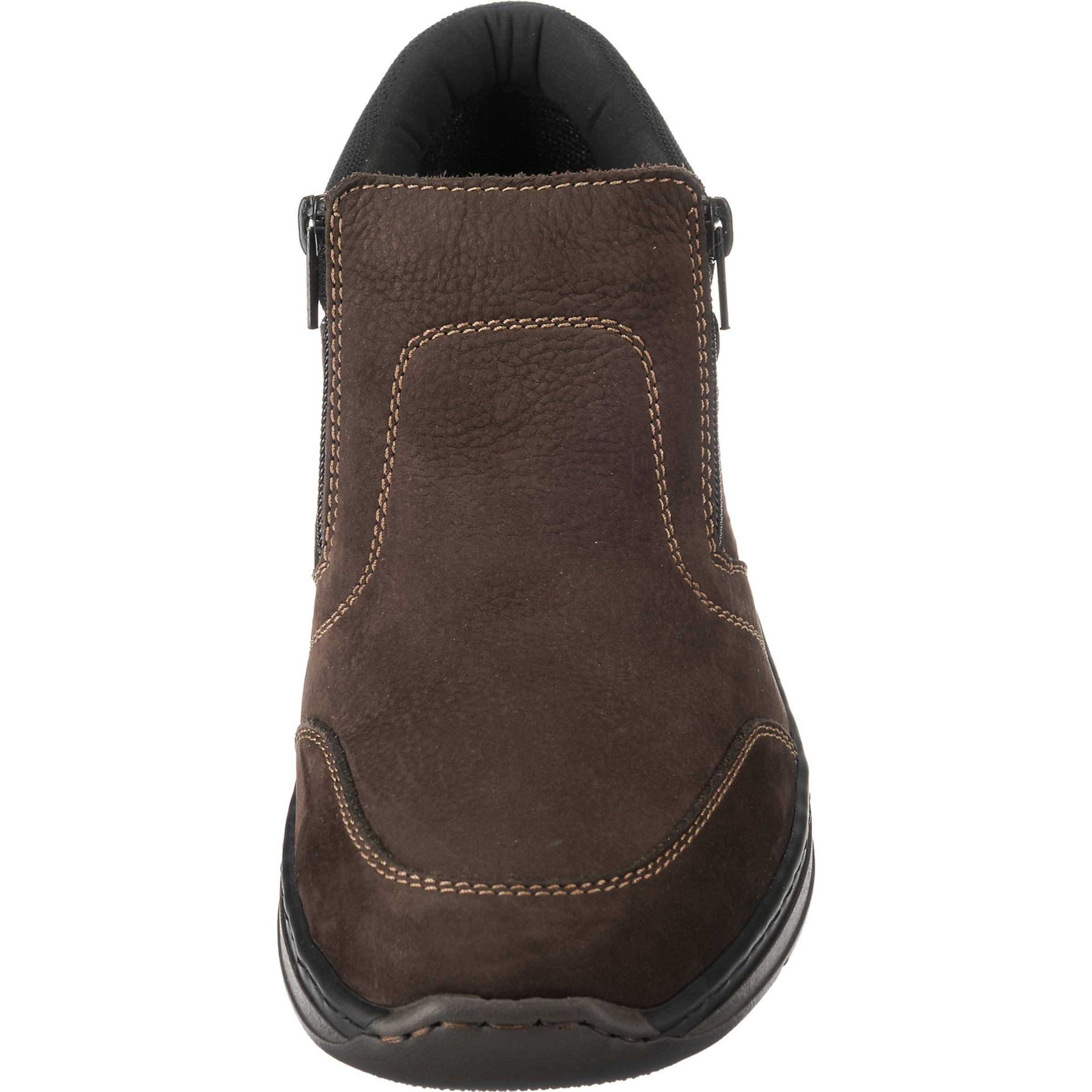 RIEKER Stiefeletten Leder, Textil Bequem, gut gut gut aussehend 00631a