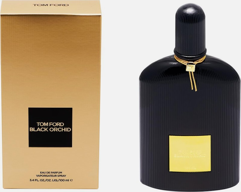 Tom Ford Eau de Parfum 'Black Orchid' in schwarz / transparent, Produktansicht