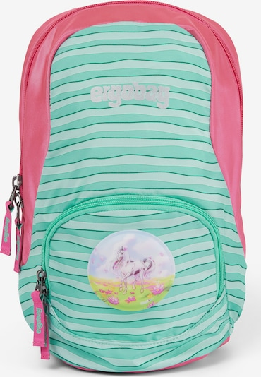 ergobag Tasche 'Ease' in mint / pink / weiß, Produktansicht