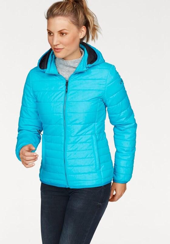 CMP Daunenjacke 'Zip Hood Jacket in modischer Stepp-Optik