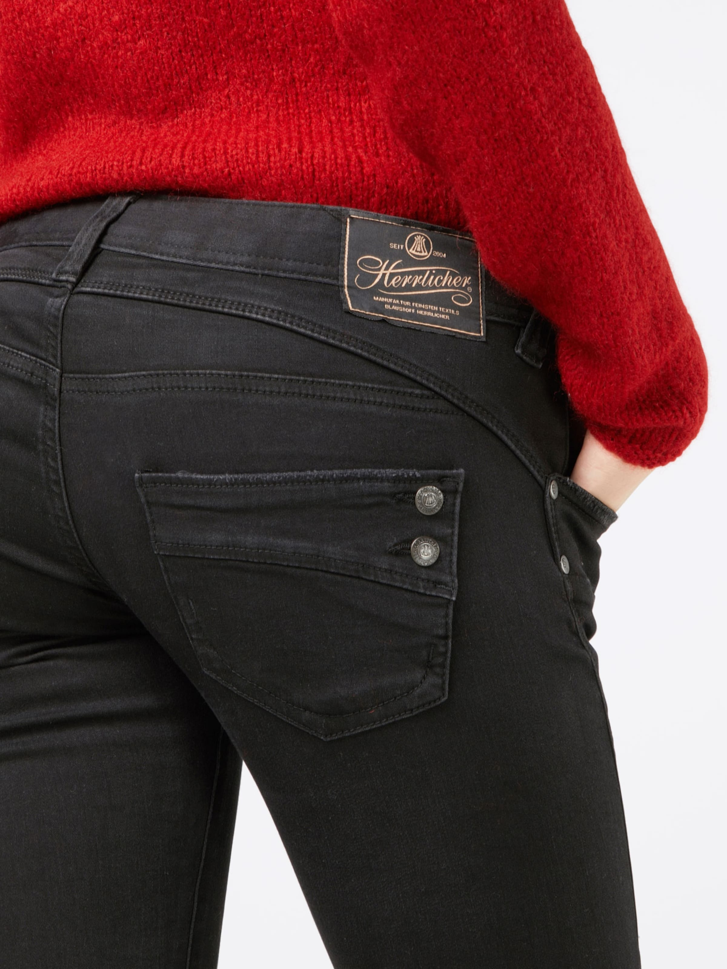 In Stretch' 'piper Slim Herrlicher Jeans Denim Black rxhQtdsC