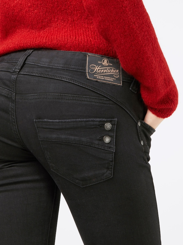 Herrlicher Jeans 'Piper Slim Denim Black Stretch'