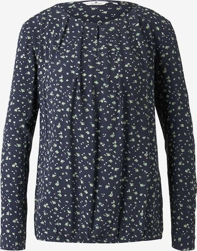 Bluză TOM TAILOR pe albastru noapte / verde deschis, Vizualizare produs