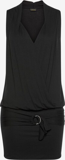 LASCANA Longshirt in schwarz, Produktansicht