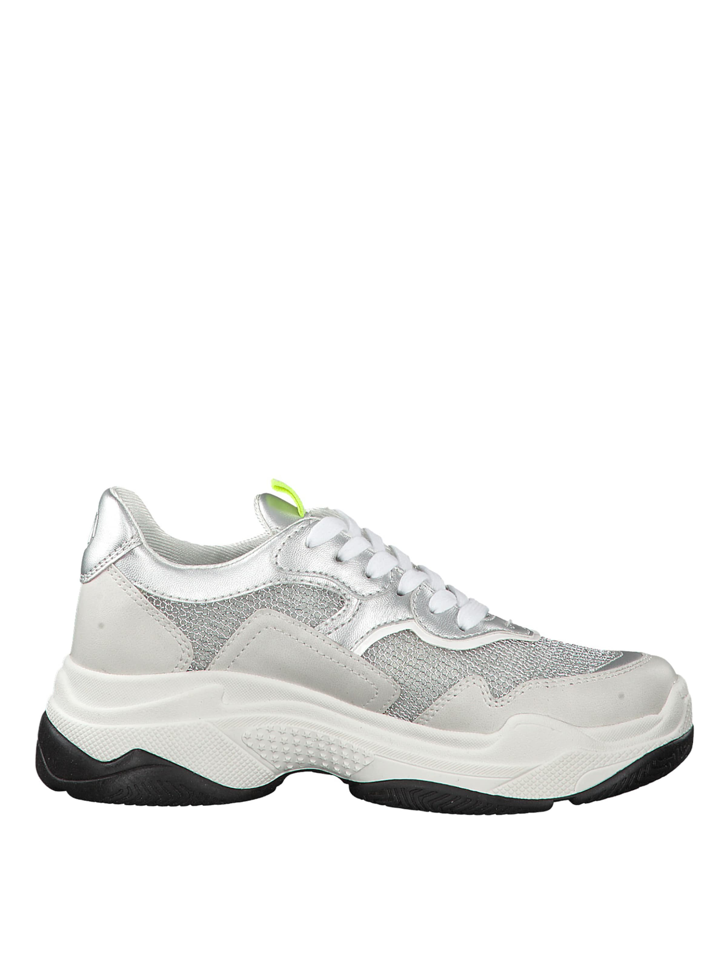 oliver SilberWeiß Label Red S Sneaker In hdsrCxQt