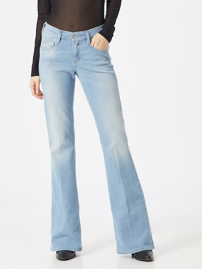 DIESEL Jeans 'D-EBBEY' in blue denim, Modelansicht