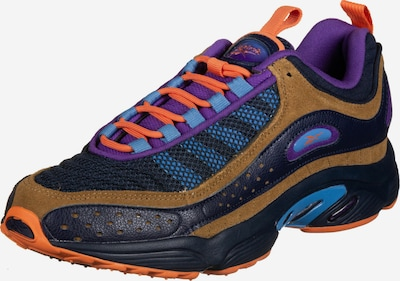 Reebok Classic Sneaker in hellblau / braun / violettblau, Produktansicht