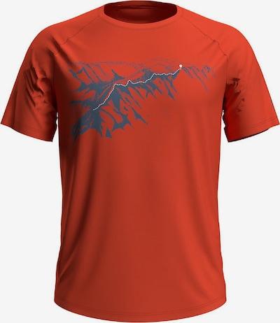 ODLO T-Shirt in himmelblau / dunkelorange, Produktansicht