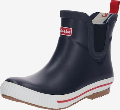 Derbe Regenlaarzen 'Wattpuuschen' in de kleur Navy, Productweergave