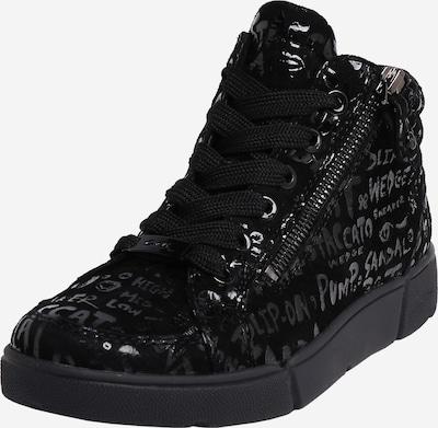 ARA Baskets hautes en noir, Vue avec produit