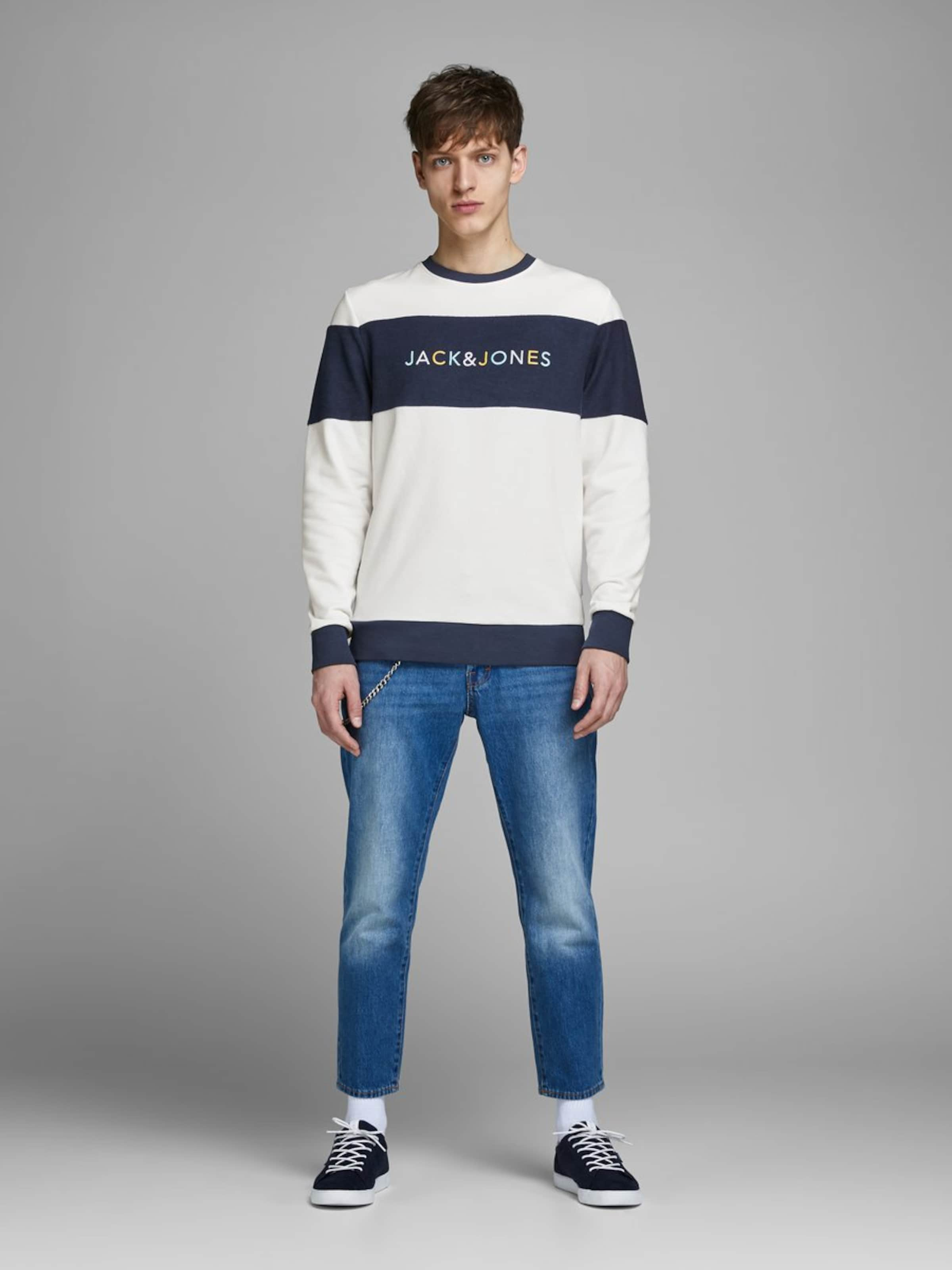 In Jackamp; DunkelblauWeiß Jones Sweatshirt dCrxoBe