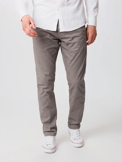 ESPRIT Chino hlače 'NOOS Chino' u siva, Prikaz modela