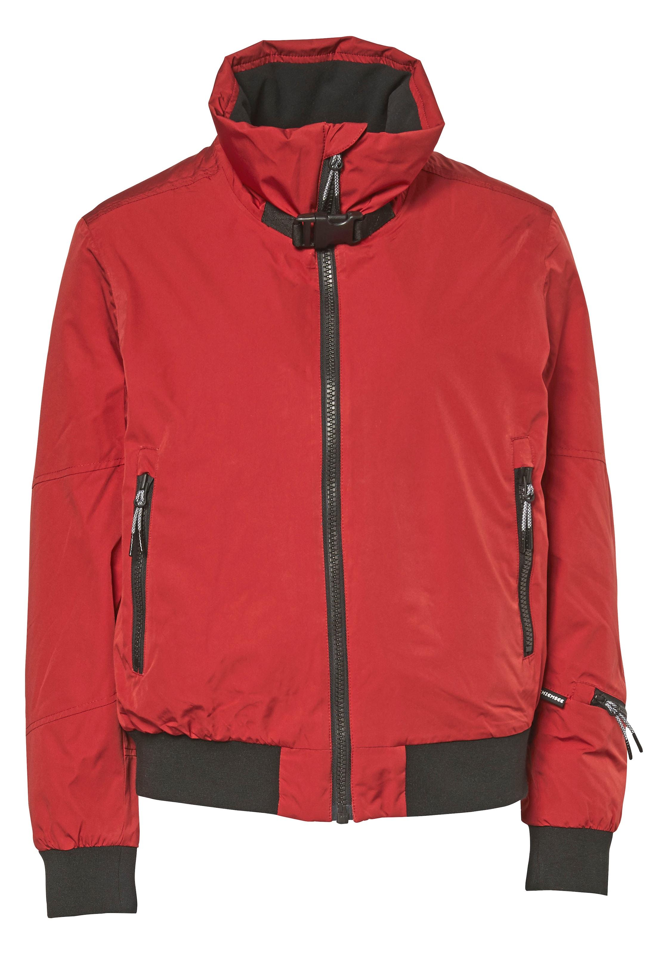 Rouge Sport De Noir Jacket' Chiemsee En Ski Veste 'heavenly nCqPOHw0B