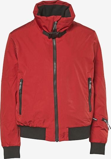 CHIEMSEE Sportjas in de kleur Rood / Zwart, Productweergave
