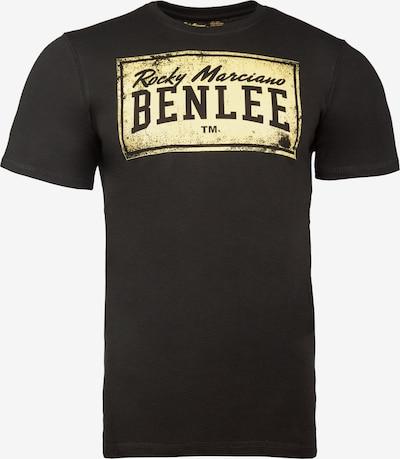 BEN LEE T-Shirt BOXLABEL in schwarz, Produktansicht