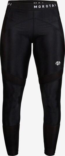 MOROTAI Sport-Leggings in schwarz / weiß, Produktansicht
