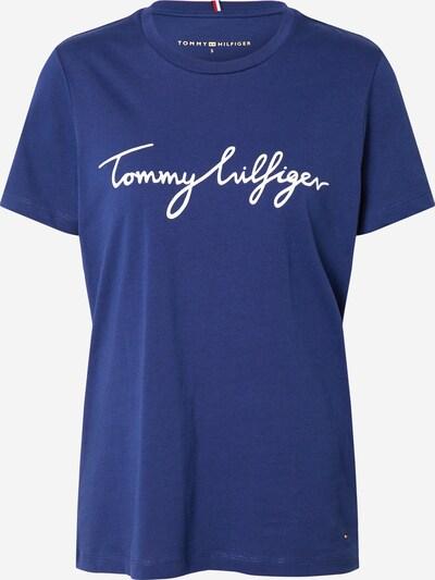 TOMMY HILFIGER Tričko - tmavě modrá / bílá, Produkt