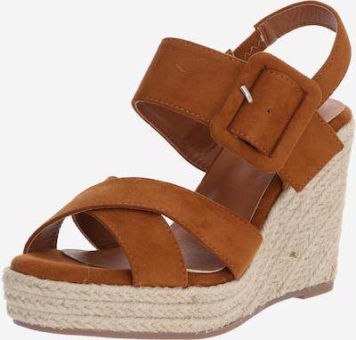Xti Sandale in camel, Produktansicht