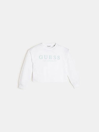 GUESS KIDS Sweatshirt in weiß, Produktansicht