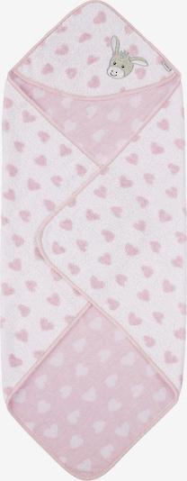 STERNTALER Badetuch 'Emmi' in taupe / rosa / weiß, Produktansicht