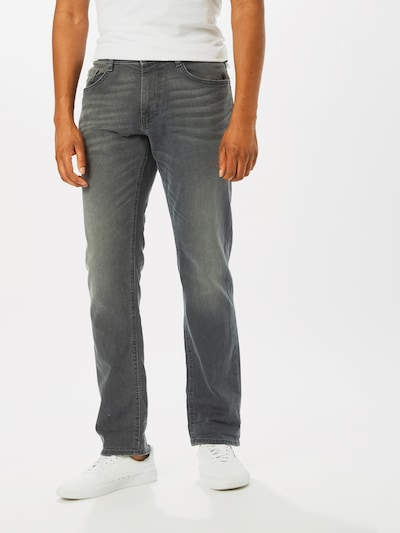 TOM TAILOR Jeans 'Josh' in grey denim, Modelansicht